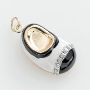 Diamond Fascination 14k Gold Diamond Accent Baby Shoe Charm
