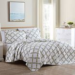 Laura Ashley Lifestyles Antoinette Twin Quilt Set with Shams