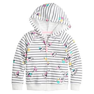 Disney's Minnie Mouse Toddler Girl Hooded Zip-Up by Jumping Beans®