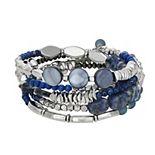 Sonoma Goods For Life® Multi-Beads Coil Bracelet