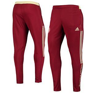 Men's adidas Red Atlanta United FC Travel AEROREADY Pants
