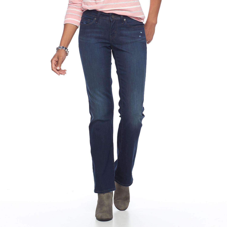 Bootcut jeans damen style