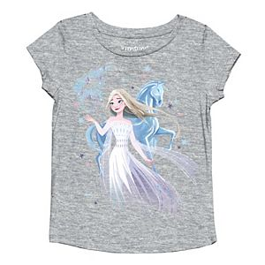 Disney's Frozen Elsa Toddler Girl Elsa & Water Knokk Horse Graphic Tee by Jumping Beans®