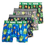 Boys 6-10 Minecraft 4-pk. Boxer Briefs