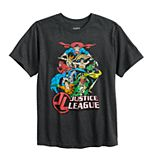 Boys 8-20 DC Comics Justice League Come Join Graphic Tee