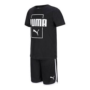 Boys 8-20 PUMA Tee & Shorts Set