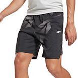 Men's Reebok Workout Ready Allover Print Shorts