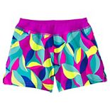 Girls 8-16 Lands' End Soft Elastic Waistband Swim Shorts in Plus Size