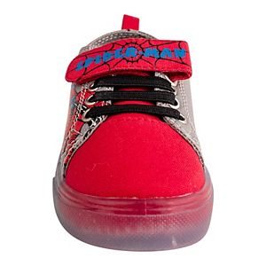 Marvel Spider-Man Toddler Boys' Light-Up Sneakers