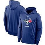 Men's Nike Royal Toronto Blue Jays Logo Therma Performance Pullover Hoodie