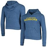 Youth 5th & Ocean by New Era Royal Golden State Warriors Lightweight Tri-Blend Pullover Hoodie