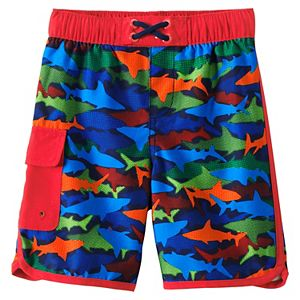 Boys 2-20 Lands' End Cargo Pocket Swim Trunks in Regular, Slim & Husky