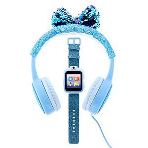 iTouch PlayZoom 2 Kids' Pink Glitter Smart Watch