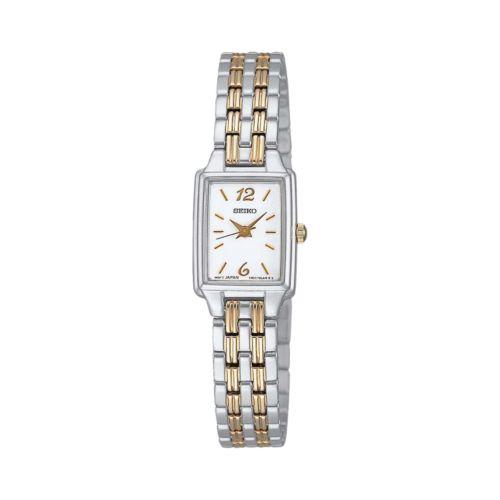 Seiko Stainless Steel Two-Tone Watch - Women