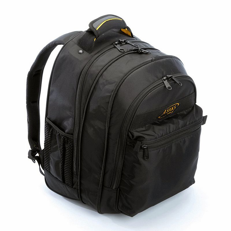 A.Saks Expandable Laptop Backpack