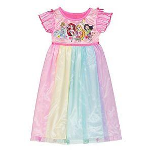 Disney Princess Toddler Girl Fantasy Dress Night Gown