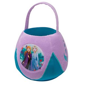 Disney's Frozen 2 Anna and Elsa Jumbo Plush Basket