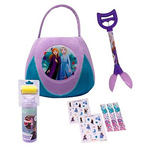 Disney's Frozen 2 Anna and Elsa Jumbo Plush Basket Kit