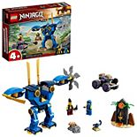 LEGO NINJAGO Legacy Jay's Electro Mech 71740 LEGO Set (106 Pieces)
