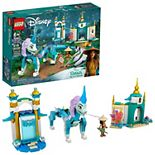 Disney's Raya and the Last Dragon Raya and Sisu Dragon 43184 LEGO Set (216 Pieces) by LEGO