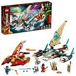 LEGO NINJAGO Catamaran Sea Battle 71748 LEGO Set (780 Pieces)