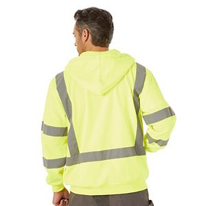 Men's Wrangler RIGGS Workwear Deluxe High-Visibility Safety Hoodie
