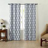 VCNY Home Trevor Bold Print Window Curtain Set