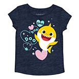 Toddler Girl Jumping Beans® Baby Shark Heart Graphic Tee