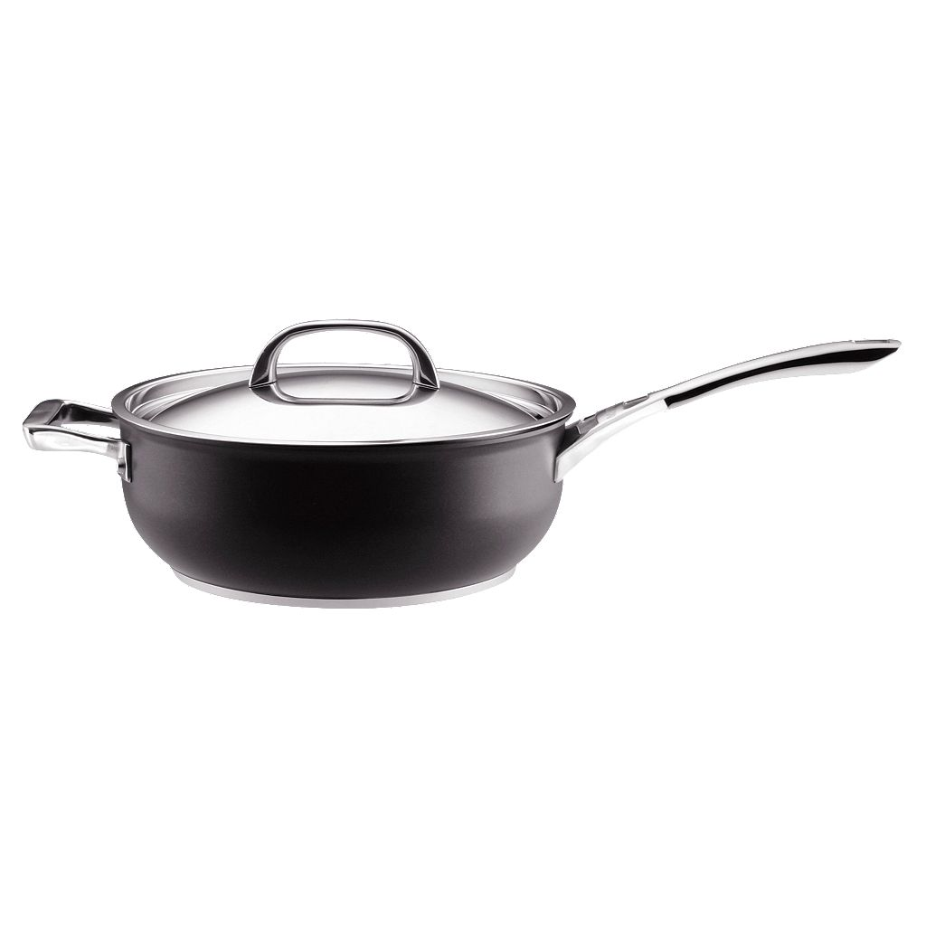 Infinite Circulon 6-qt. Nonstick Hard-Anodized Covered Chef's Pan