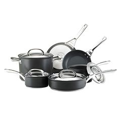 Infinite Circulon 10-pc. Nonstick Hard-Anodized Cookware Set