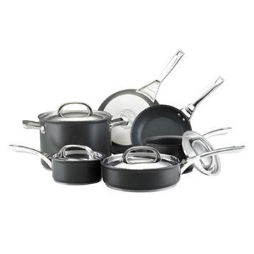 Infinite Circulon 10-pc. Nonstick Hard-Anodized Cookware Set