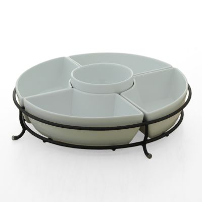 Food Network 6-pc. Bowl and Server Set