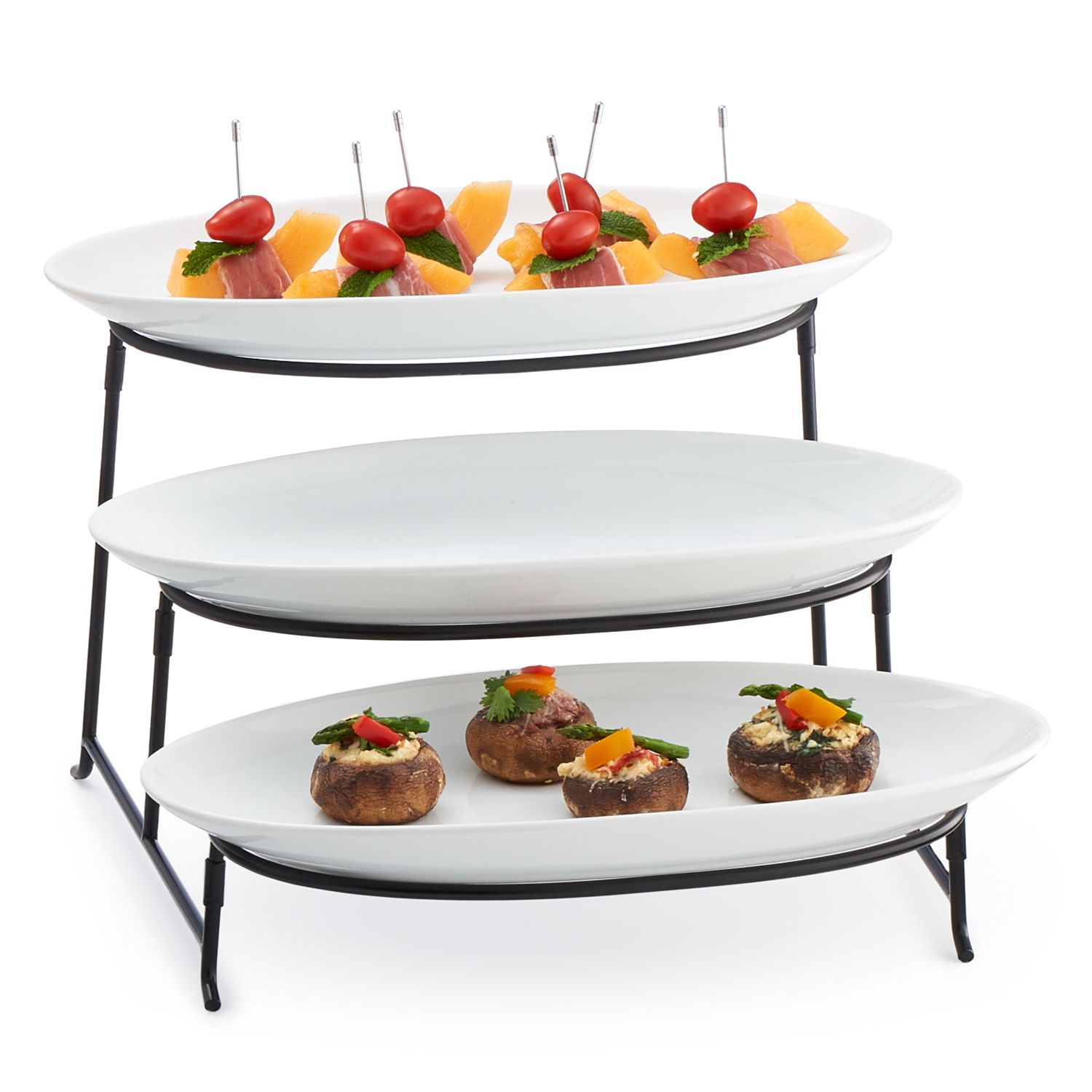 Food Network™ 3 Pc. Tiered Plate Server