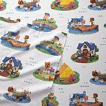 Nintendo Animal Crossing Gone Camping Sheet Set with Pillowcases