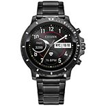 Citizen CZ Smart Men's 46 mm Stainless Steel Bracelet Smart Watch