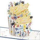"Hallmark Signature Paper Wonder Graduation ""Class of 2021"" Pop-Up Greeting Card"