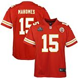 Youth Nike Patrick Mahomes Red Kansas City Chiefs Super Bowl LV Bound Game Jersey