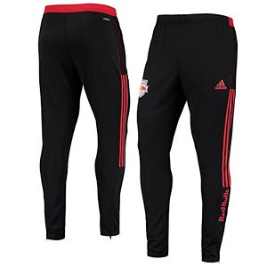 Men's adidas Black New York Red Bulls 2021 Travel AEROREADY Pants