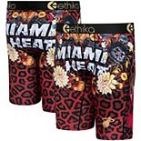 Youth Ethika Miami Heat Fashion Bling Collection Boxer Briefs