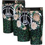 Youth Ethika Milwaukee Bucks Fashion Bling Collection Boxer Briefs