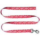 Little Earth Nebraska Huskers 60'' Pet Leash