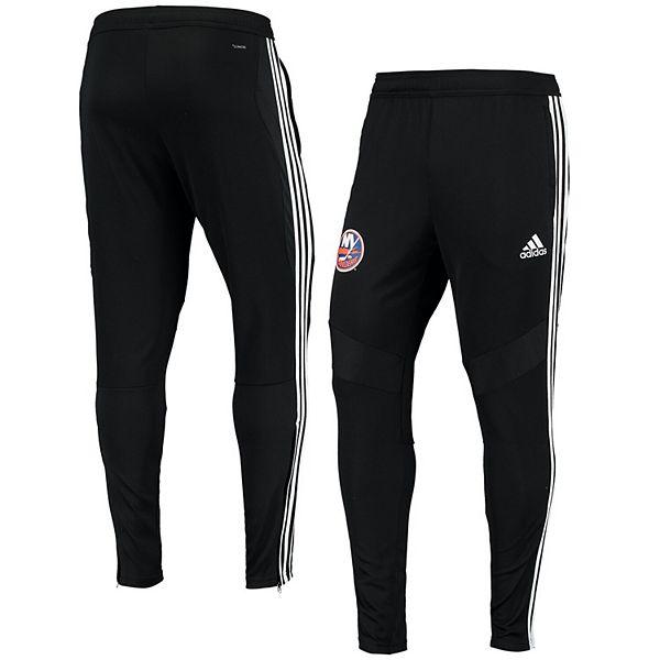 Men's adidas Black New York Islanders climacool Tiro Track Jogger Pants