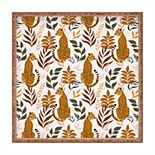 Society6 Bamboo Tray - Wild Cheetah Collection by Avenie
