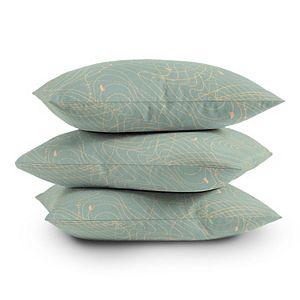 Society6 Throw Pillow - The Tangled Web II by Iveta Abolina