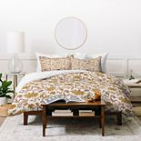 Society6 Duvet Cover - Kalami Floral by Holli Zollinger