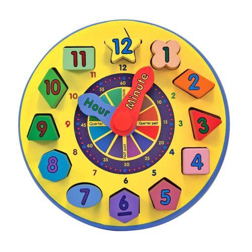 Melissa and Doug Shape Sorting Clock