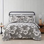 Cottage Classics Rochelle Floral 3-piece Duvet Cover Set with Shams