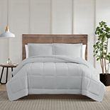 Truly Calm Silver Cool Down Alternative Comforter Set with Shams