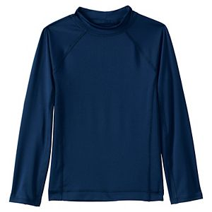 Boys 2-20 Lands' End Long Sleeve Swim Rash Guard