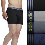 Men's adidas 4-Pack Performance Cotton Stretch Boxer Briefs